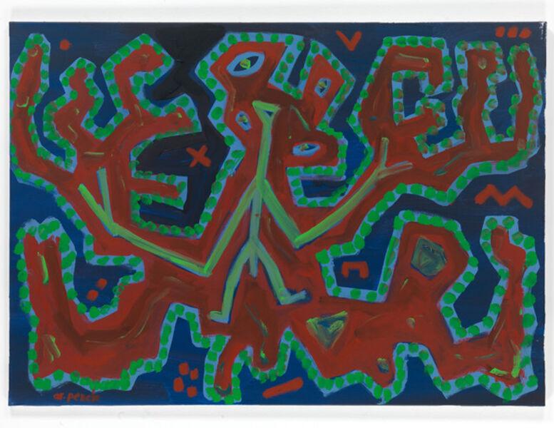 A.R. Penck, 'Ohne Titel', 1995