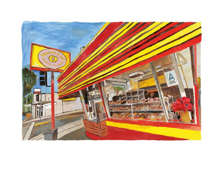 Bob Dylan, 'Donut Shop', 2016