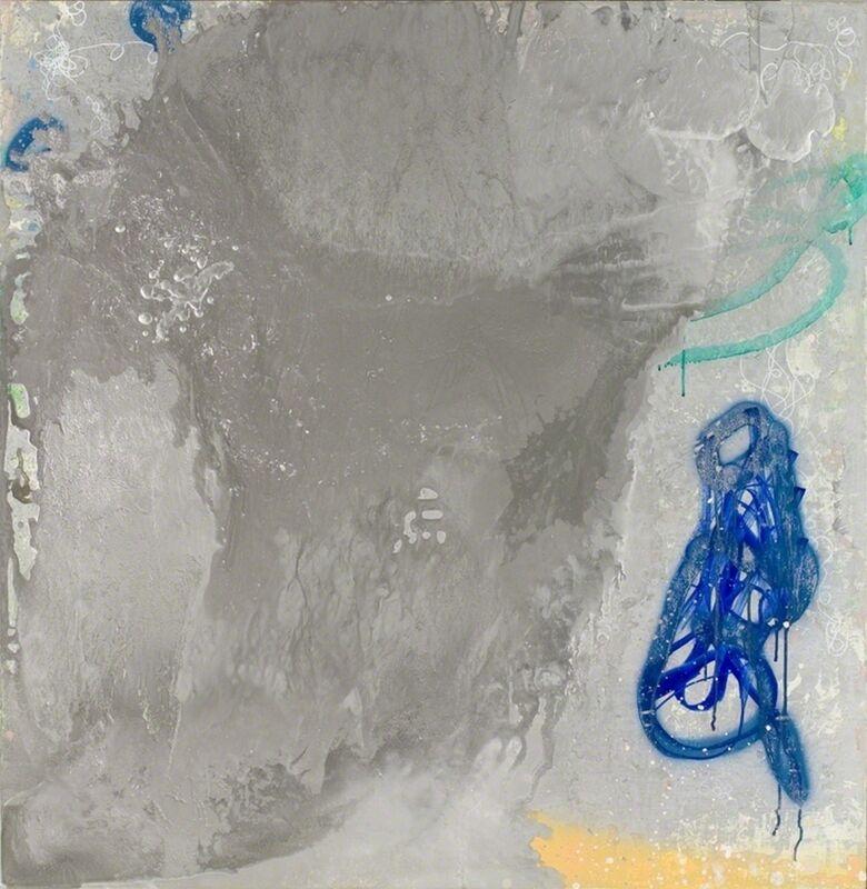 Bernd Haussmann, 'Silver Painting (1798)', Painting, Oil & mixed-media on aluminum, William Campbell Contemporary Art Inc