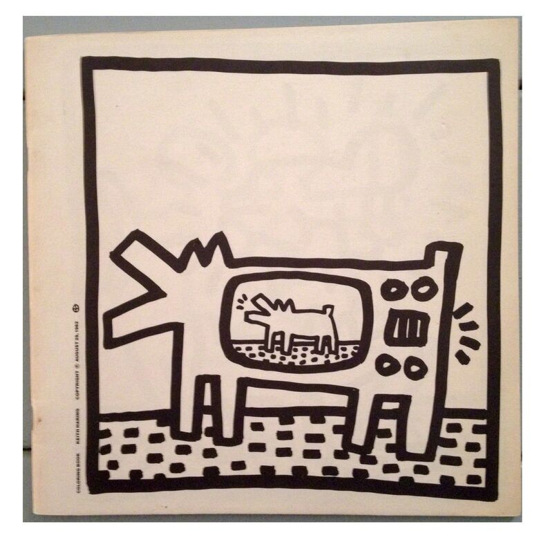 """Keith Haring, '""""Coloring Book"""", 1982, FIRST EDITION, Lithographs', 1982, Ephemera or Merchandise, Lithograph on Paper, VINCE fine arts/ephemera"""