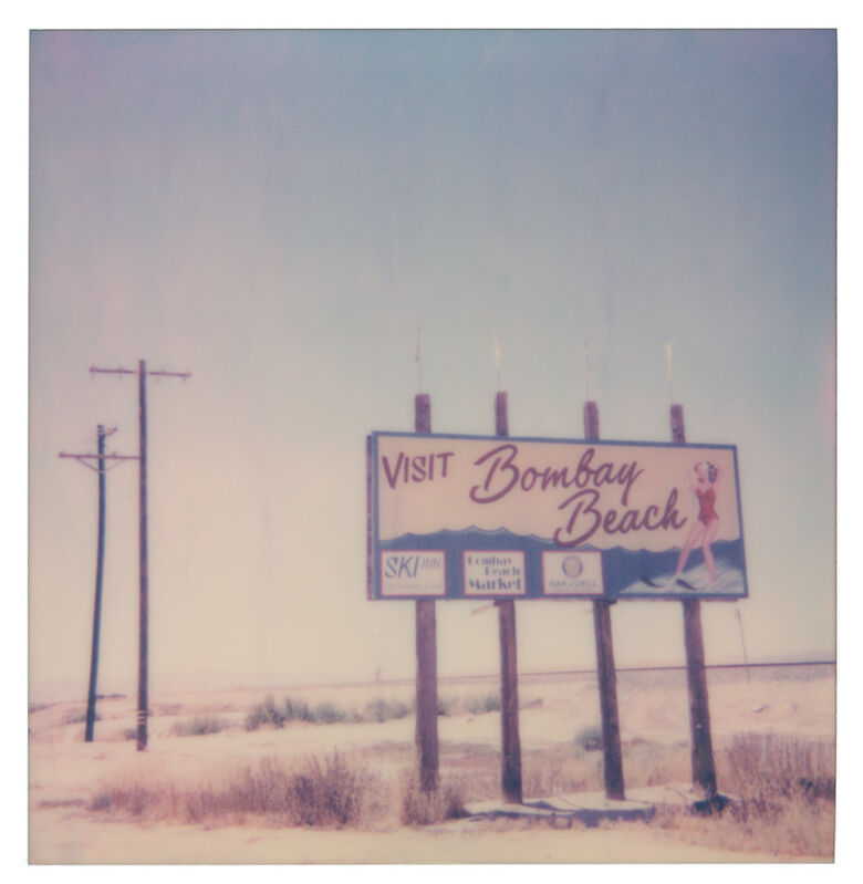 Stefanie Schneider, 'Visit Bombay Beach (California Badlands)', 2019, Photography, Digital C-Print, based on a Polaroid, Instantdreams
