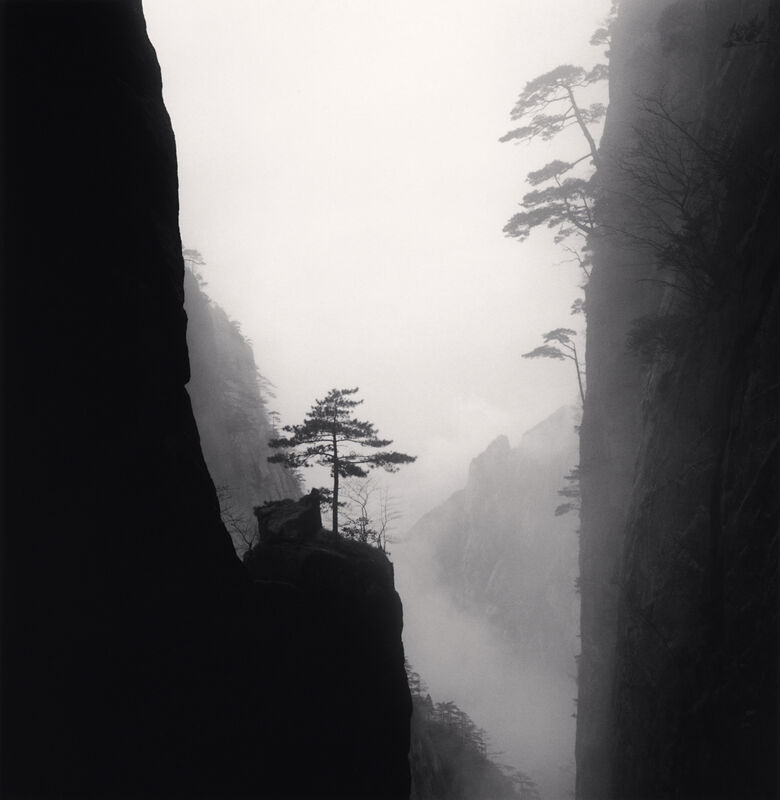 Michael Kenna, 'Huangshan Mountains, Study 43, Anhui, China', 2010, Photography, Sepia toned silver gelatin print, Ira Stehmann Fine Art Photography
