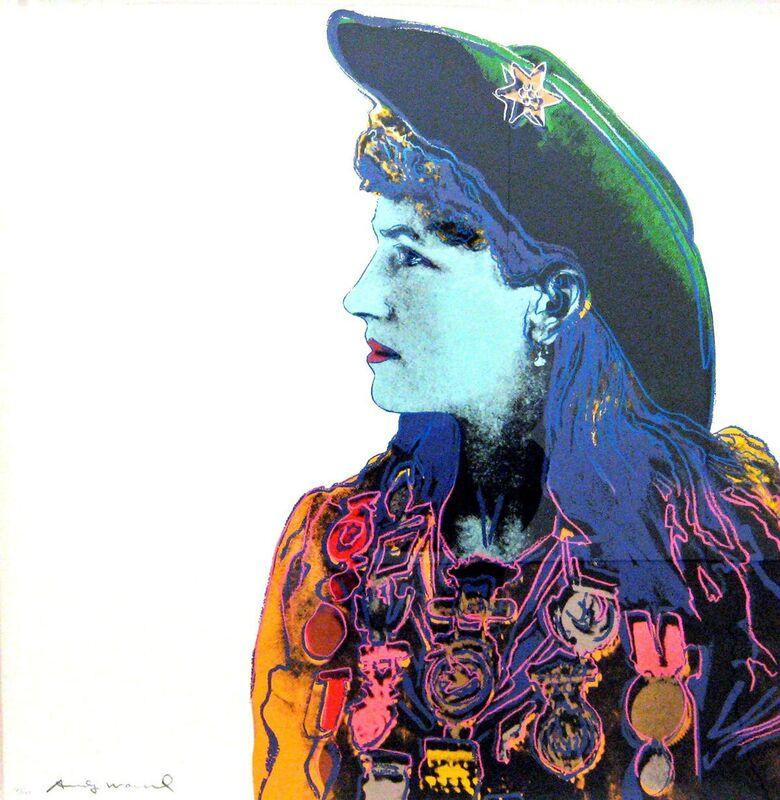 Andy Warhol, 'Annie Oakley (FS II.378) ', 1986, Print, Screenprint on Lenox Museum Board, Revolver Gallery