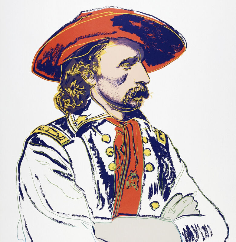 Andy Warhol, 'General Custer, from Cowboys and Indians', 1986, Print, Screen print in colours on Lenox Museum Board, Tate Ward Auctions