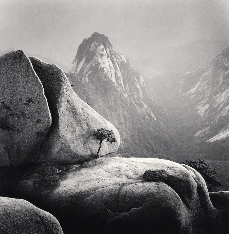 Michael Kenna, 'Huangshan Mountains, Study 27 - Anhui, China. ', 2009, Photography, Sepia toned silver gelatin print, Galeria de Babel
