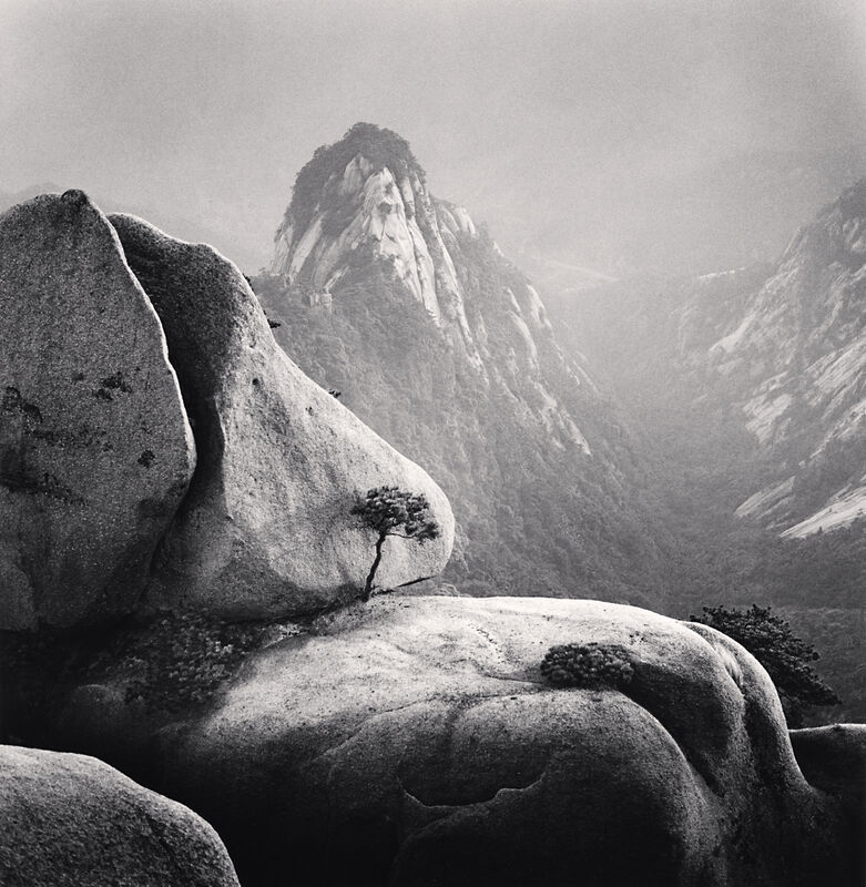 Michael Kenna, 'Huangshan Mountains, Study 27, Anhui, China', 2009, Photography, Sepia toned silver gelatin print, Ira Stehmann Fine Art Photography