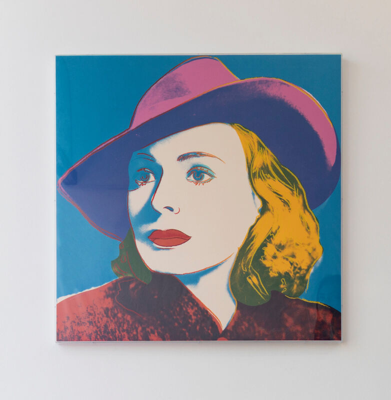 Andy Warhol, 'Ingrid Bergman, With Hat (FS II.315) ', 1983, Print, Screenprint on Lenox Museum Board, Revolver Gallery