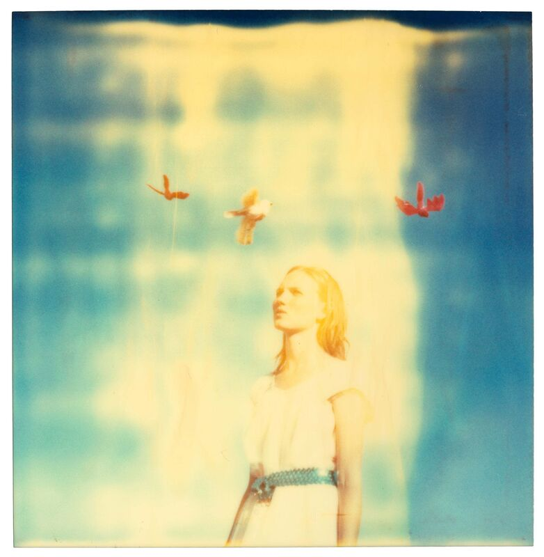 Stefanie Schneider, 'Calliope (Haley and the Birds) ', 2013, Photography, Digital C-Print based on a Polaroid, not mounted, Instantdreams