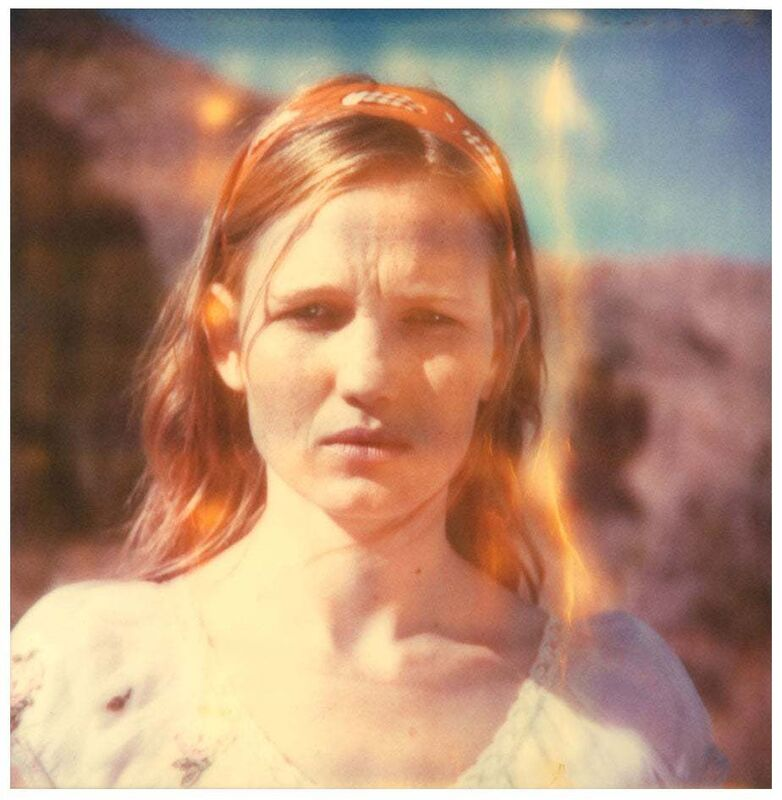 Stefanie Schneider, 'Haley (Haley and the Birds)', 2013, Photography, Digital C-Print based on a Polaroid, not mounted, Instantdreams
