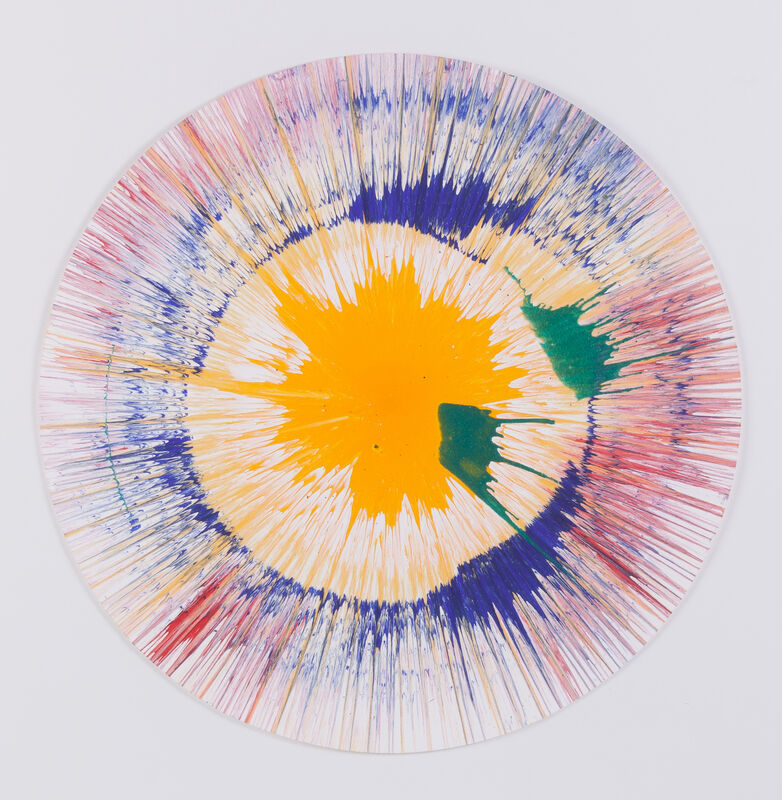 Damien Hirst, 'Spin Picture', 2003, Drawing, Collage or other Work on Paper, Acrylic on paper, Omer Tiroche Gallery