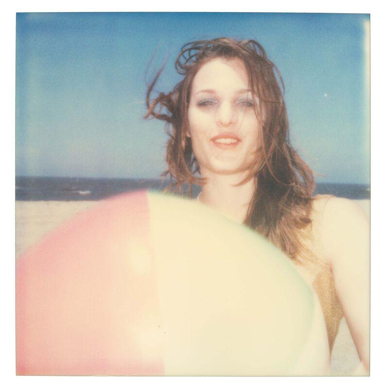 Stefanie Schneider, 'Camille with Beach Ball (Beachshoot) - Original Polaroid Unique Piece', 2005, Photography, Original Polaroid Unique Piece, Instantdreams