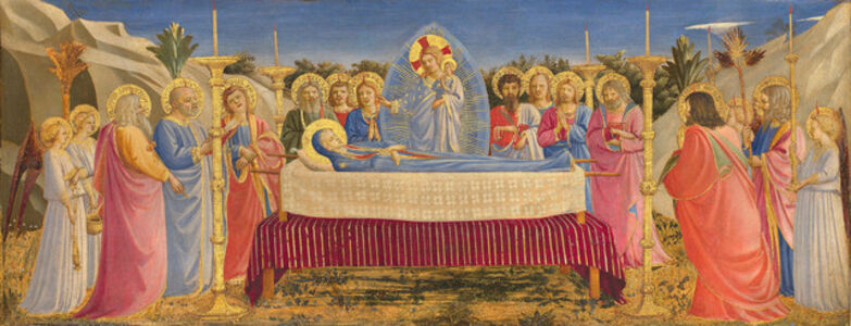 Fra Angelico, 'Funeral of the Virgin', 1431-1435