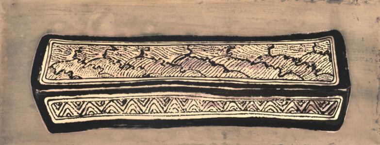 Sun Yanchu, 'Black Flower Pattern on The  Ceramic Whiteware', 2018