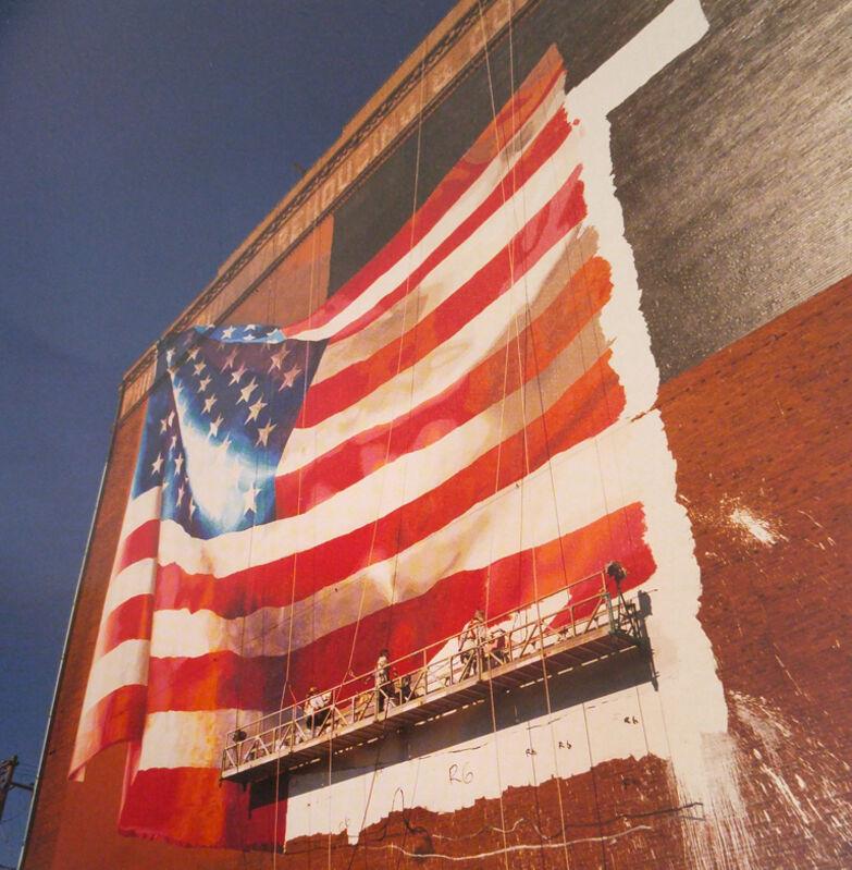 David Graham, 'Flag, Delaware Avenue, Philadelphia, Pennsylvania', 2001, Photography, C-print, PDNB Gallery