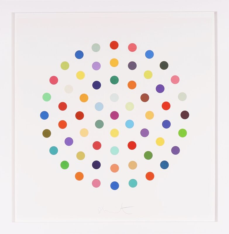 Damien Hirst, 'Multi-color Spots Etching with Aquatint ', 2004, Print, Etching with Aquatint, Arton Contemporary