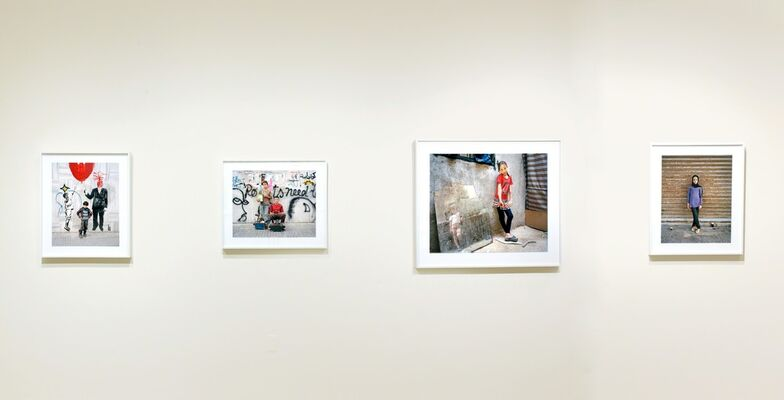 Rania Matar, Invisible Children, installation view
