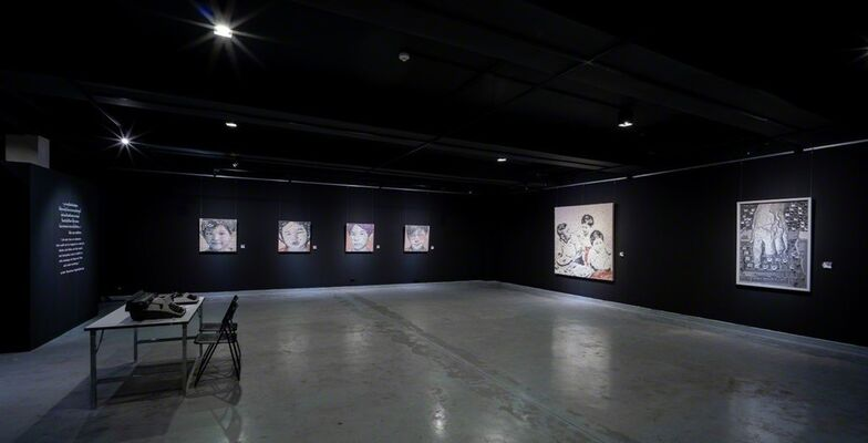 'Typeface' - a solo exhibition by  Thanathorn Suppakijjumnong, installation view