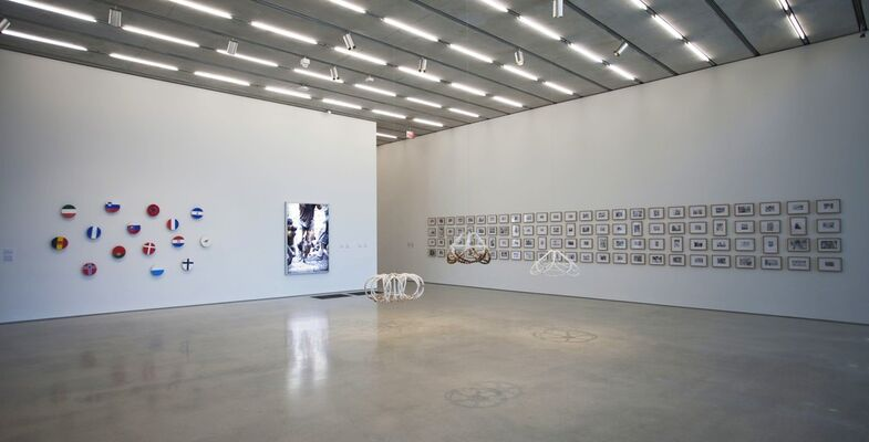 Global Positioning Systems, installation view