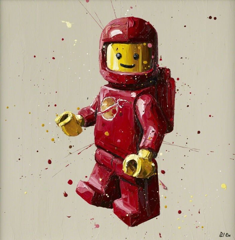Paul Oz, 'Lego ', 2015, Print, Hand embellished giclée print on boxed canvas, Imitate Modern