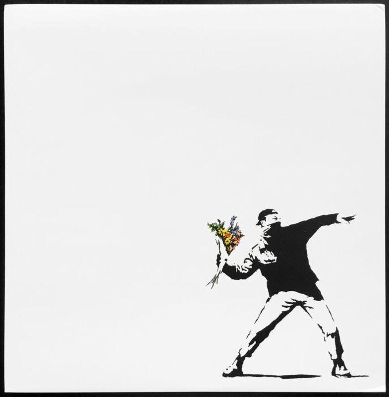 Banksy, 'Anarchist - Miami Vices', 2008, Ephemera or Merchandise, LP cover, AYNAC Gallery