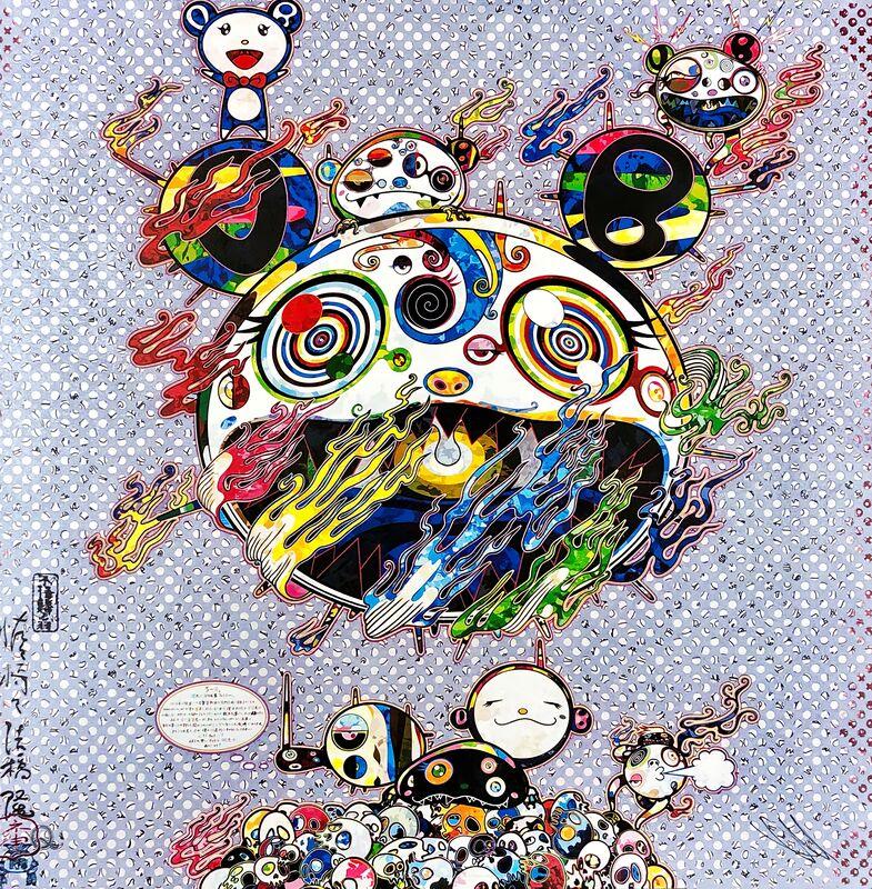 Takashi Murakami, 'Chaos', 2013, Print, Offset print with silver, Pinto Gallery