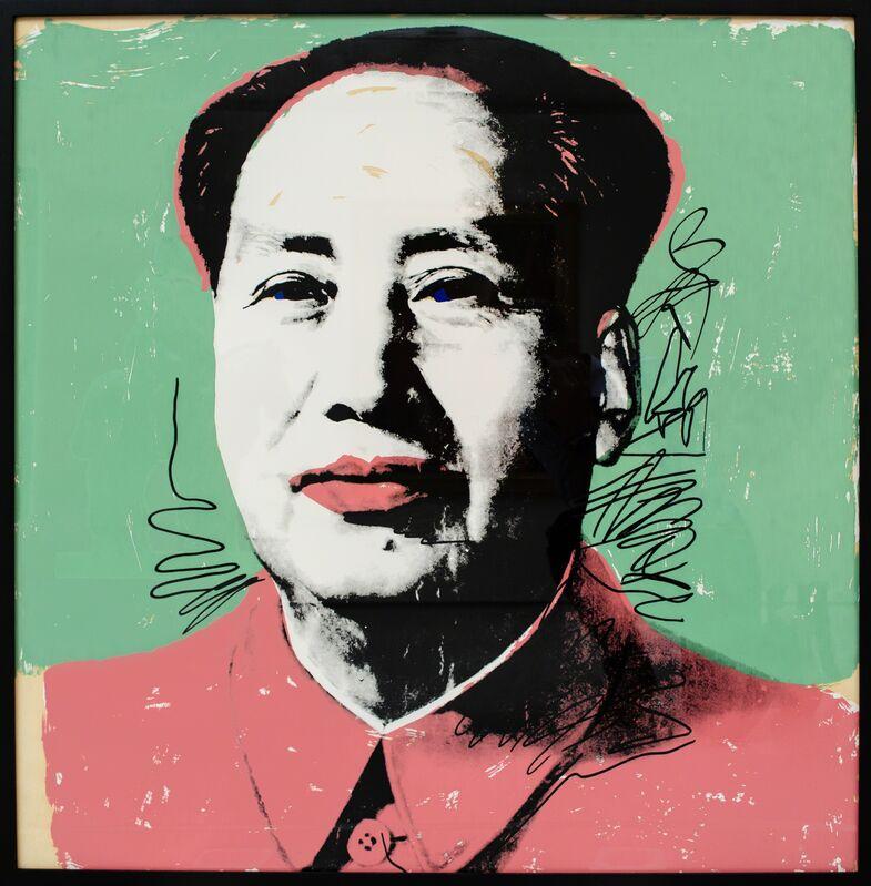 Andy Warhol, 'Mao', 1972, Print, Screenprint in colors, David Benrimon Fine Art