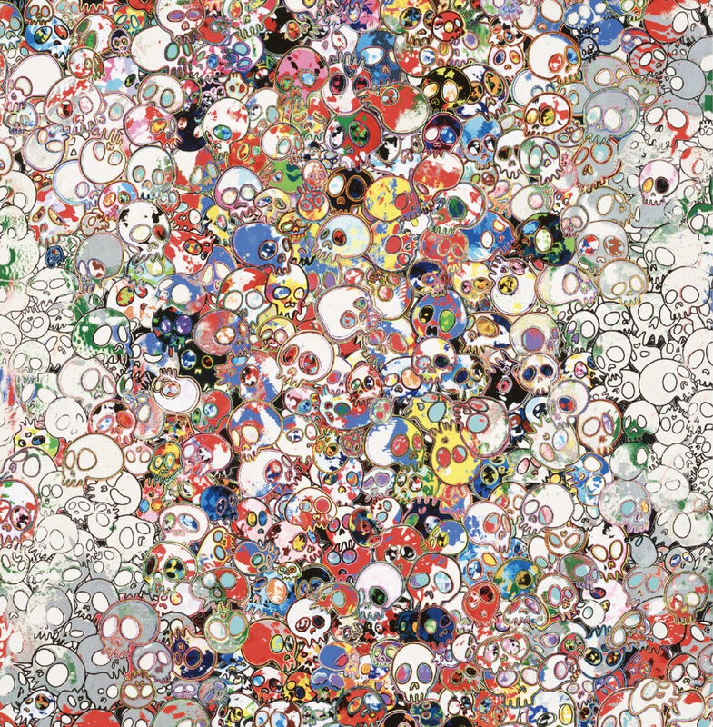 Takashi Murakami, 'A Fork in the Road', 2020, Print, Archival Pigment Print on Canson Velin, Cotton Rag Paper with deckled edges, Pinto Gallery