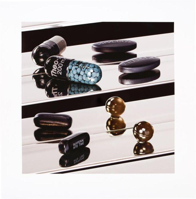 Damien Hirst, 'Dark Black Heaven - Nite Time', 2012, Print, Inkjet, glaze, and foilblock on Hahnemühle photo rag ultra smooth 305gsm, artrepublic