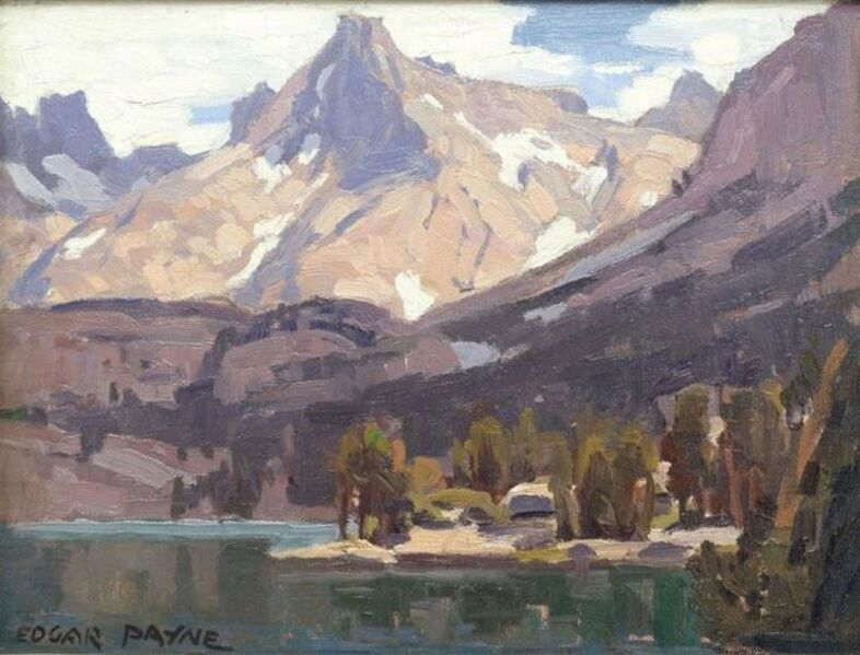 Edgar Alwin Payne, 'Sierra Mountain Lake', Unknown