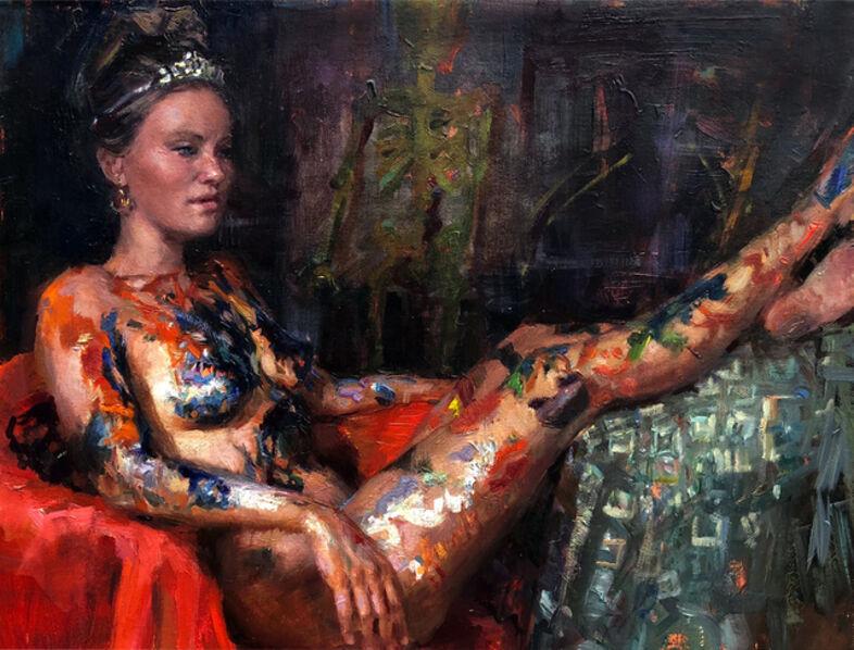 Natalia Fabia, 'Painted Lady', 2018