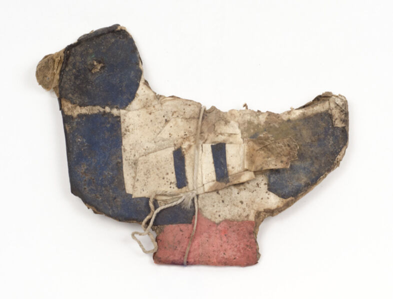 James Castle, 'Untitled (Dark Blue Duck with Red Feet)', n.d.