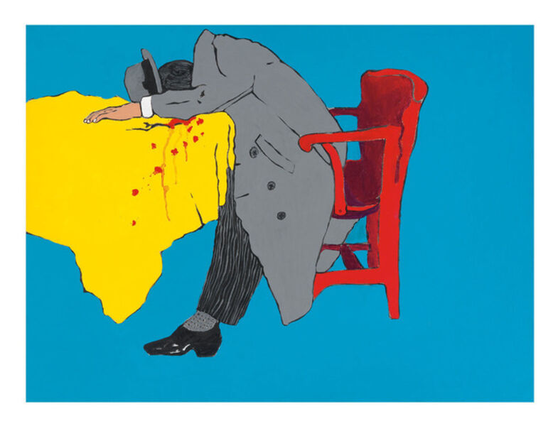 Rosalyn Drexler, 'Rub Out', 1982