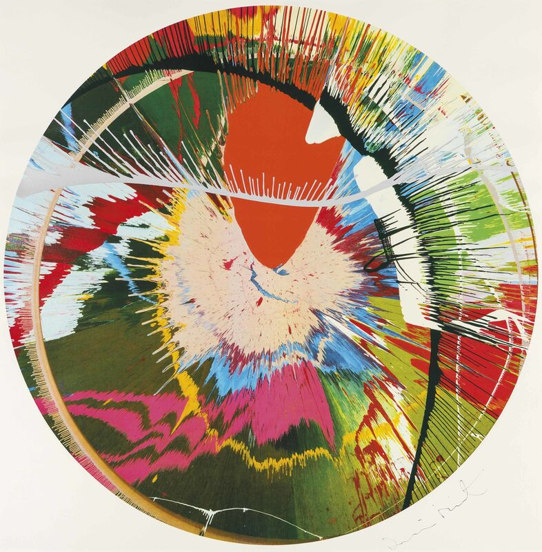Damien Hirst, 'Beautiful, Galactic, Exploding', 2001, Print, Lithograpb, Eternity Gallery
