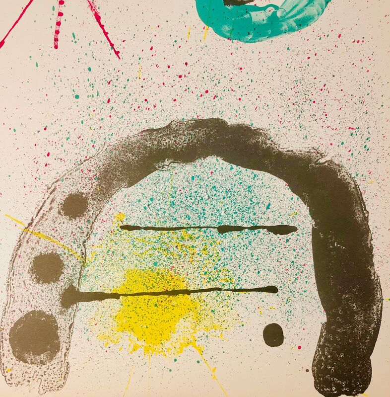 Joan Miró, 'The Gardener's Daughter', 1963, Print, Original Lithograph, Inviere Gallery