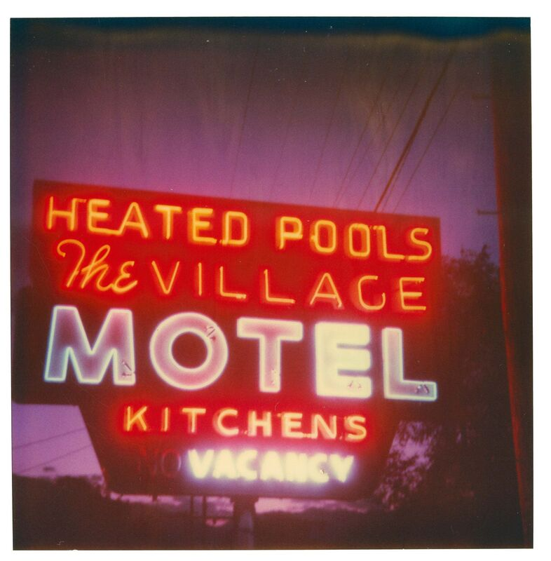 Stefanie Schneider, 'Village Motel - Heated Pool (The Last Picture Show)', 2005, Photography, Analog C-Print, hand-printed by the artist on Fuji Crystal Archive Paper, based on a Polaroid, mounted on Aluminum with matte UV-Protection, Instantdreams