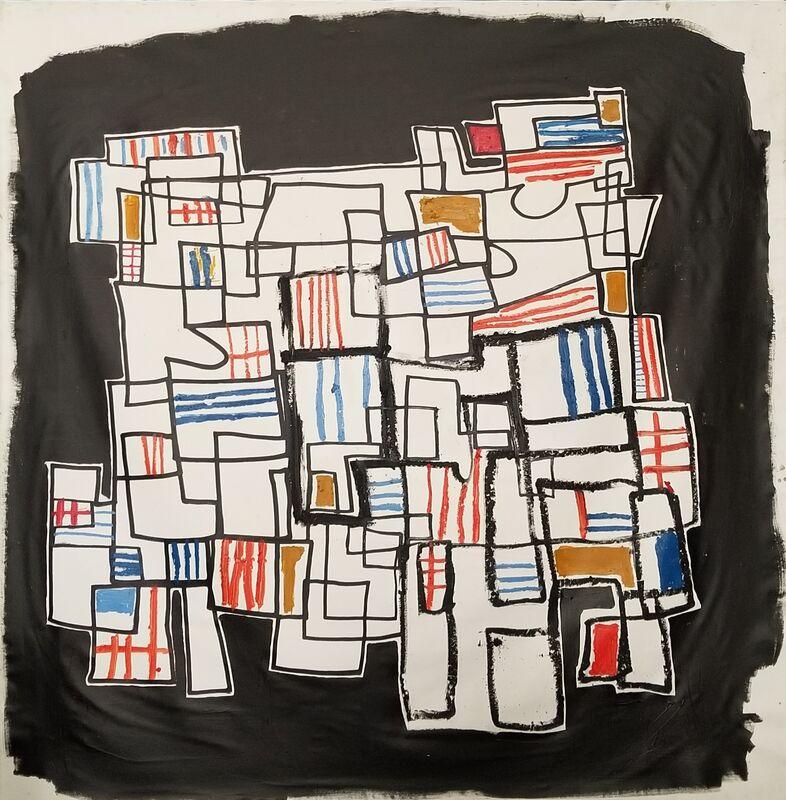 Noah Becker, 'Google Maps', 2020, Painting, Acrylic and oil on canvas, Rudolf Budja Gallery