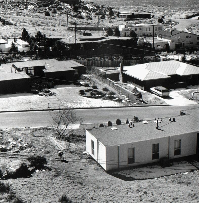 Joe Deal, 'View, Albuquerque, New Mexico', 1974, Photography, Vintage silver print, Robert Mann Gallery
