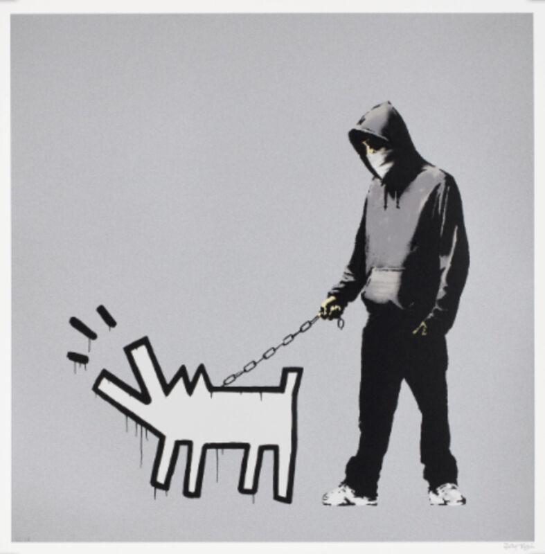 Banksy, 'Choose Your Weapon (Silver)', 2010, Print, Screen Print, Leonards Art
