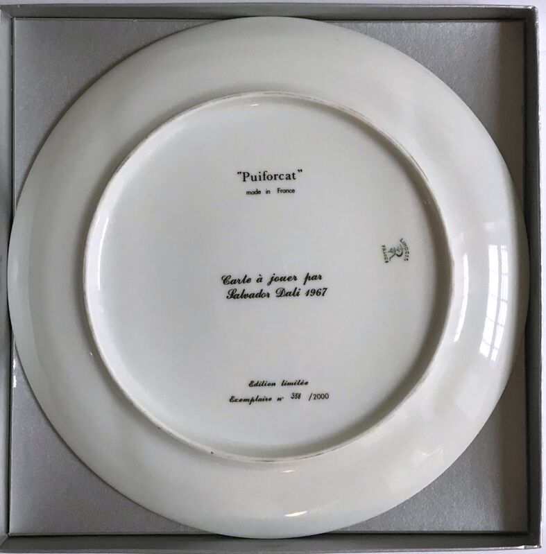 Salvador Dalí, 'Queen of Hearts', 1967, Design/Decorative Art, Limited Edition Limoges Porcelain Plate. Signature Fired into Plate. Numbered with COA, Alpha 137 Gallery