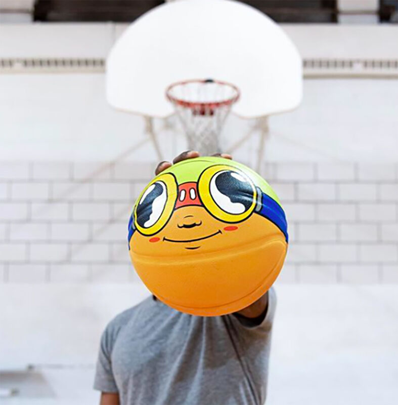 Hebru Brantley, ''Flyboy' Basketball x Wilson', 2019, Other, Rubber, Signari Gallery