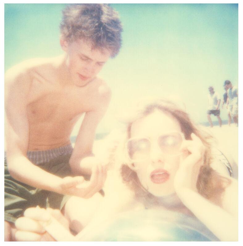Stefanie Schneider, 'Sunscreen I (Beachshoot) ', 2005, Photography, Digital C-Print, based on a Polaroid, Instantdreams