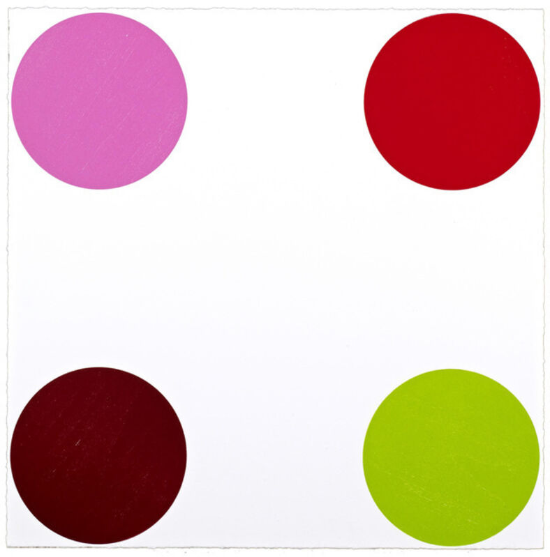 Damien Hirst, 'Curare', 2011, Print, Woodcut on Somerset white paper, Artsy x Capsule Auctions