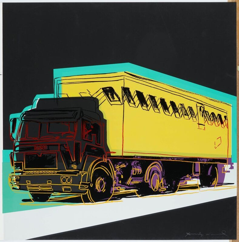 Andy Warhol, 'Truck', 1985, Print, Colour silkscreen on Lenox museum board, Van Ham