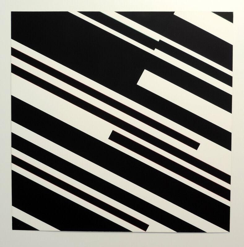 Günter Fruhtrunk, 'o.T.', 1974, Print, Serigraphie on Schoeller Hammer cardboard, Galerie La Ligne