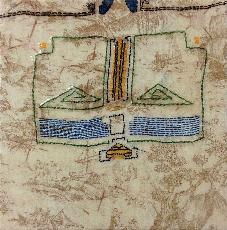 Barbara Strasen, 'Mayan and Toile', 1996, Textile Arts, Mixed Media, Ethos Contemporary Art