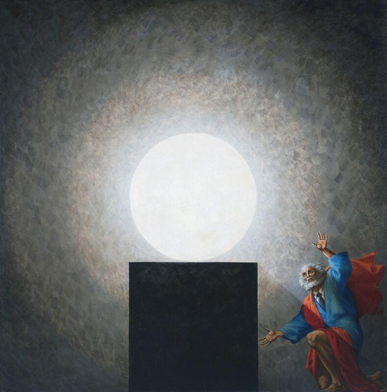 Vitaly Komar, 'Last Days of Job', 2007-2009, Painting, Tempera and oil on canvas, Ronald Feldman Gallery
