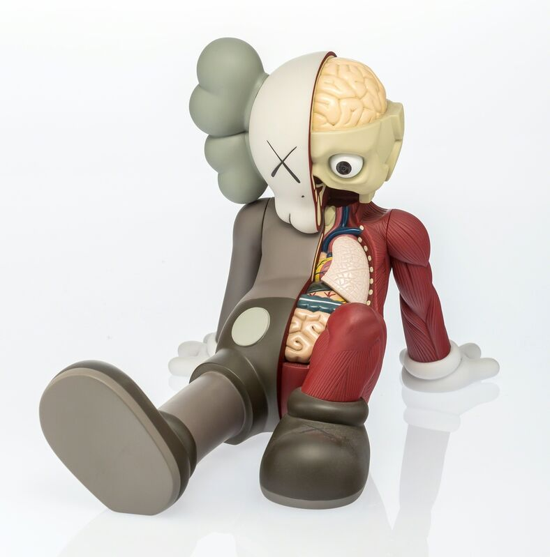 KAWS, 'Companion (Resting Place) (Brown)', 2013, Other, Painted cast vinyl, Heritage Auctions