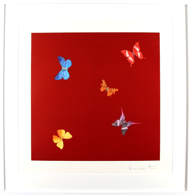 Damien Hirst, 'She Walks in Beauty', 2014, Print, Photogravure etching with lithographic overlay, Gormleys Fine Art
