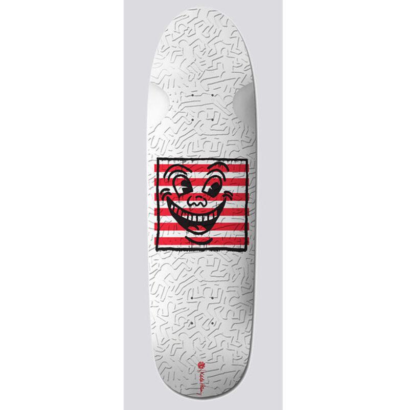 Keith Haring, 'Keith Haring Skateboard Deck (Keith Haring three eyed face)', 2018, Print, Screen-print on maplewood skateboard deck, Lot 180