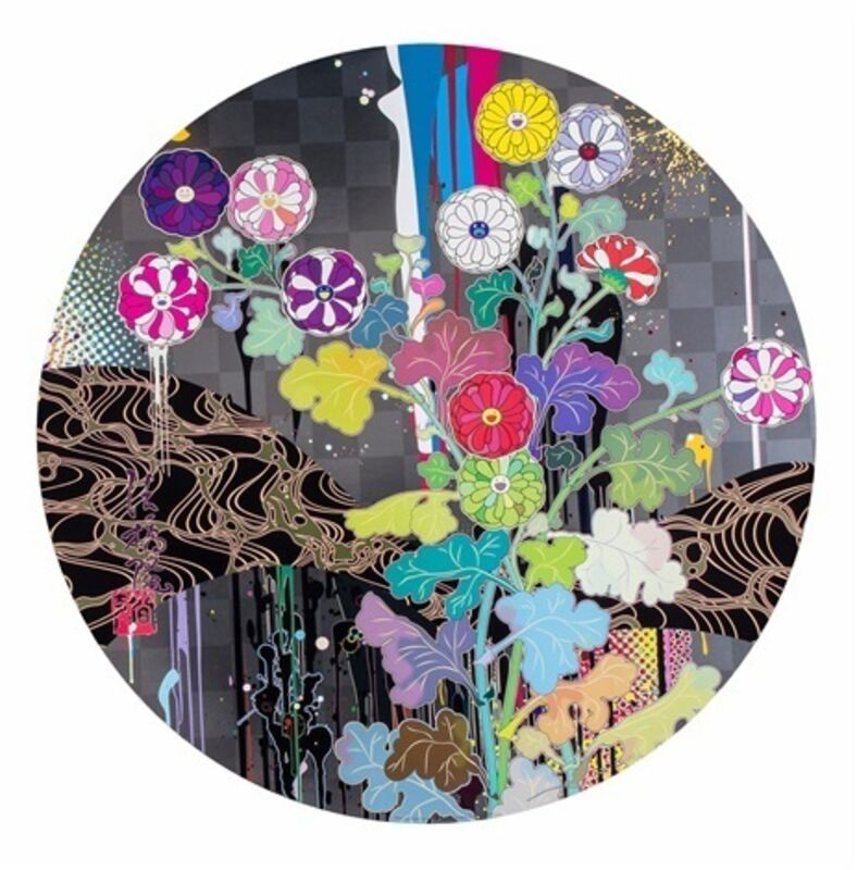 Takashi Murakami, 'Kansei: Like The River's Flow ', 2010, Print, Offset lithograph, Dope! Gallery